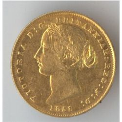 1858 Sovereign