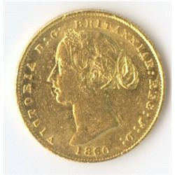 1860 Sovereign