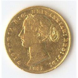 1861 Sovereign