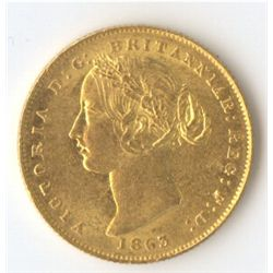 1863 Sovereign