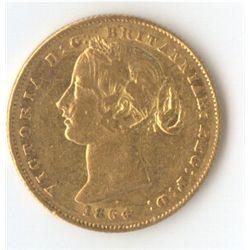 1864 Sovereign