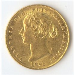1865 Sovereign