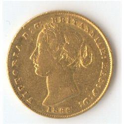 1866 Sovereign