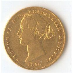 1870 Sovereign