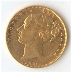 1883 M Shield Sovereign