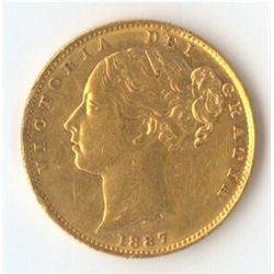 1887 M Shield Sovereign