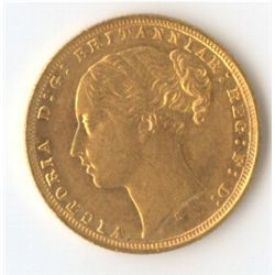 1871s Large BP YH Sovereign