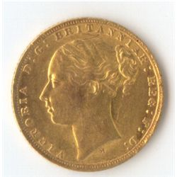 1872 M YH Sovereign