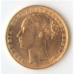 1873 S YH Sovereign