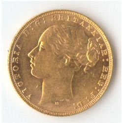 1873 M YH Sovereign