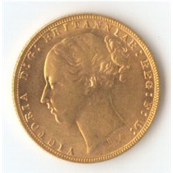 1874 S YH Sovereign