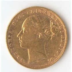 1874 M YH Sovereign