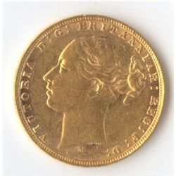 1877 M YH Sovereign