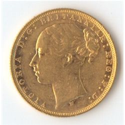 1878 M YH Sovereign