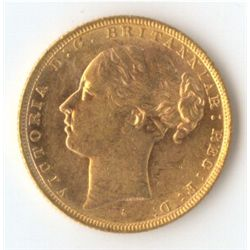 1880 S YH Sovereign