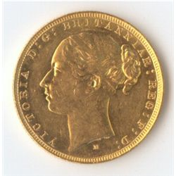 1881 M YH Sovereign