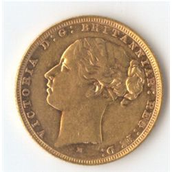 1882 M YH Sovereign