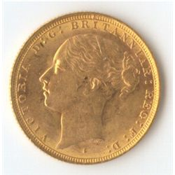 1883 S YH Sovereign