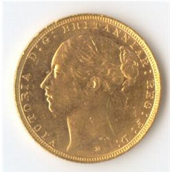 1883 M YH Sovereign