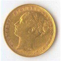 1884 S YH Sovereign