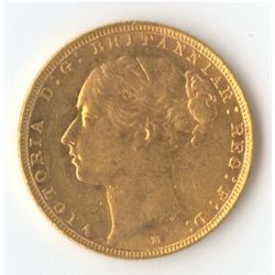 1885 M YH Sovereign