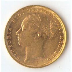 1886 S YH Sovereign
