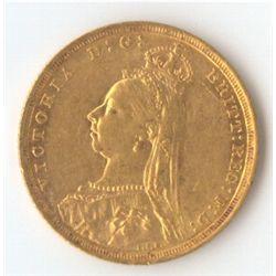 1888 S Jubilee Sovereign