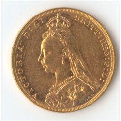 1888 M Jubilee Sovereign