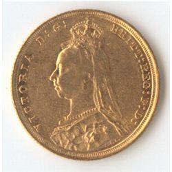 1889 S Jubilee Sovereign