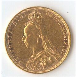 1890 S Jubilee Sovereign