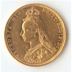 1891 S Jubilee Sovereign