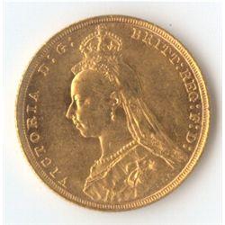 1892 S Jubilee Sovereign