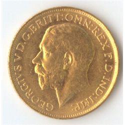 1917 S George V Sovereign
