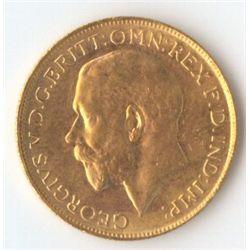 1917 P George V Sovereign