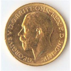 1918 M George V Sovereign