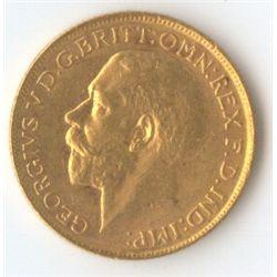 1918 S George V Sovereign