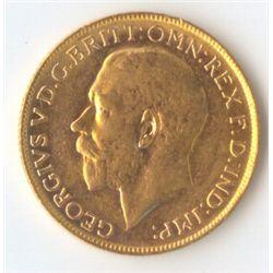 1918 P George V Sovereign