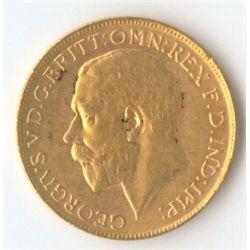 1919 P George V Sovereign