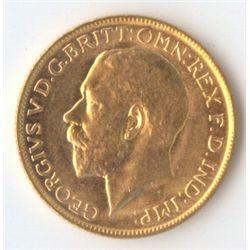 1919 M George V Sovereign