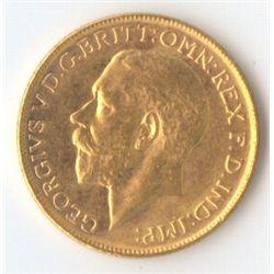 1920 M George V Sovereign