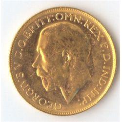 1920 P George V Sovereign