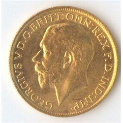 1921 S  George V Sovereign
