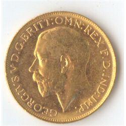 1922 P George V Sovereign