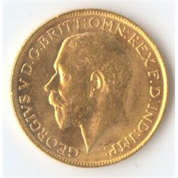 1922 M George V Sovereign