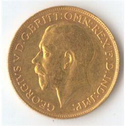 1923 S George V Sovereign