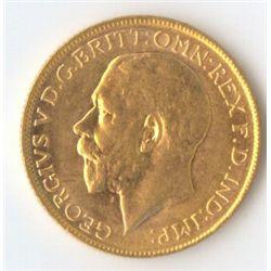 1923 M George V Sovereign