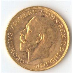 1924 M George V Sovereign