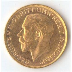 1925 M George V Sovereign