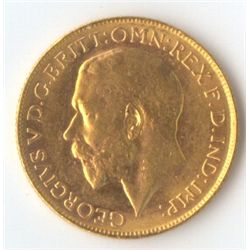 1927 P George V Sovereign