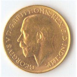 1928 P George V Sovereign